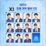 PRODUCEX101から誕生した「X1」のメンバーをご紹介